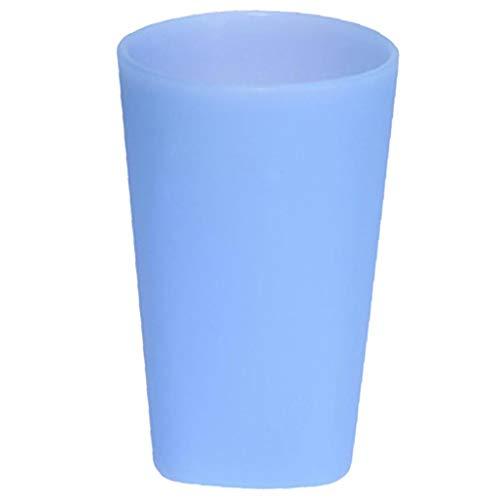 Bontand Silikon Spülmaschinenfest Stemless Weinglas, Ihuixinhe Ungiftiger Flexible Bewegliche Gläser Fexible Bier-Becher Für Die Reise Camping 400