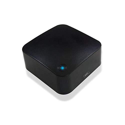 Smart IR-Fernbedienung, WiFi IR-Kontroll-Hub für Home Automation Fernbedienung Kompatibel mit Alexa Google Home, Smart Life Tuya App Steuerung Smart Home Hub für Smartphones