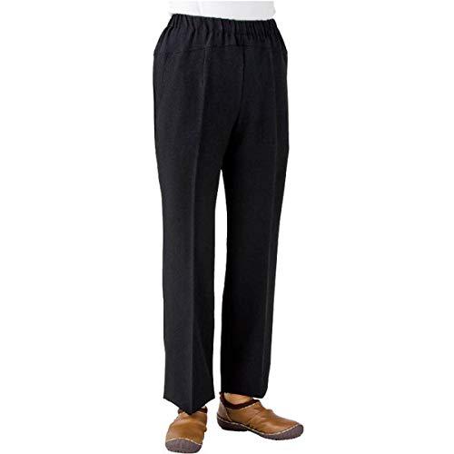 ケアファッション 婦人ストレッチCラインパンツ ブラック M 39265-21