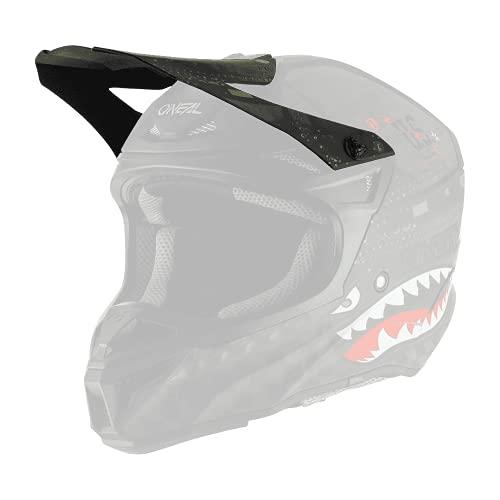 O'NEAL   Casco de Motocicleta   Motocicleta, Enduro   Visera de Repuesto   Casco de poliacrilato 5SRS Warhawk   Adultos   Verde Negro