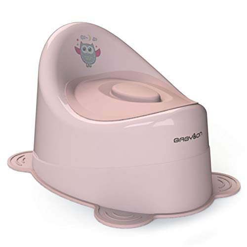 BABYLON orinales infantiles Snail orinal bebe, wc niños color rosa