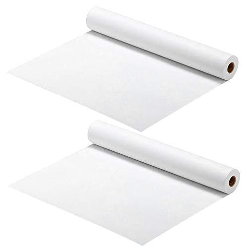 TOYANDONA 2 Stück Weiße Zeichenpapierrolle Chinesische Japanische Kalligraphie Üben Das Schreiben von Sumi-Zeichnung Xuan-Reispapier zum Malen von Pinsel Das Sumi Schreibt (45 cm X 5 M)