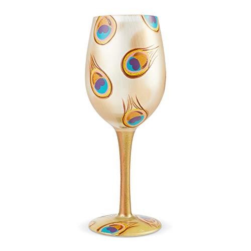 Lolita, Copa con dibujos de pavo real, Enesco