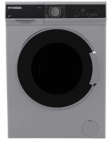 Lavadora Hyundai Hyl812pgxe 8kg 1200rpm Plata Oscuro A+++/D