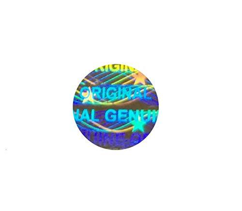 Holomarks 1200 St. Hologramm Etiketten, Siegel, Garantie, Aufkleber tamper evident rund 6mm
