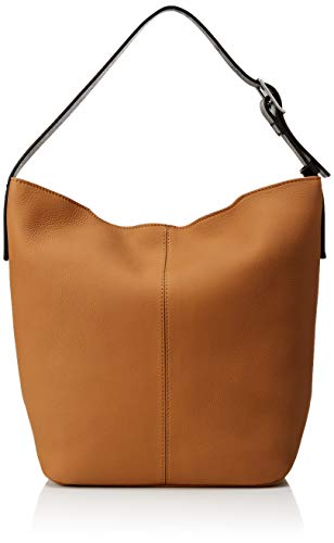 ECCO Damen Bag Jilin, Hobo-Tasche, Cashmere/Black, Einheitsgröße