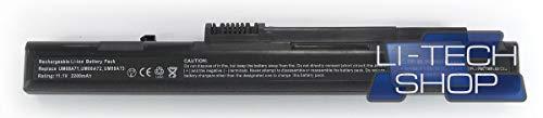 LI-TECH Batteria Compatibile Nero per Packard-Bell KAV60 3 Celle Notebook Nuova Computer