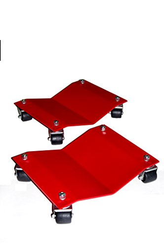 Auto Dolly M998035 Car Dollies, 12 x 16 in, 10, 000 lb, PK4