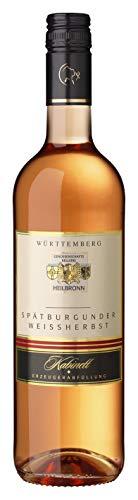 Württemberger Wein Heilbronner Spätburgunder Weißherbst Kabinett halbtrocken (1 x 0.75 l)