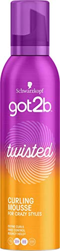 Schwarzkopf got2b Twisted Curling Mousse 250 ml - Pack of 6