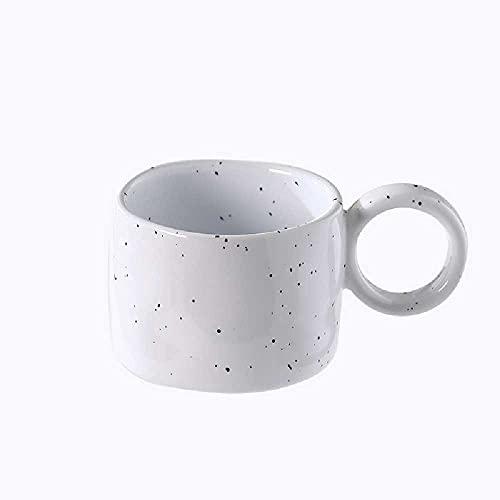Taza de cerámica de sésamo taza de leche linda chica pareja taza de agua taza de café