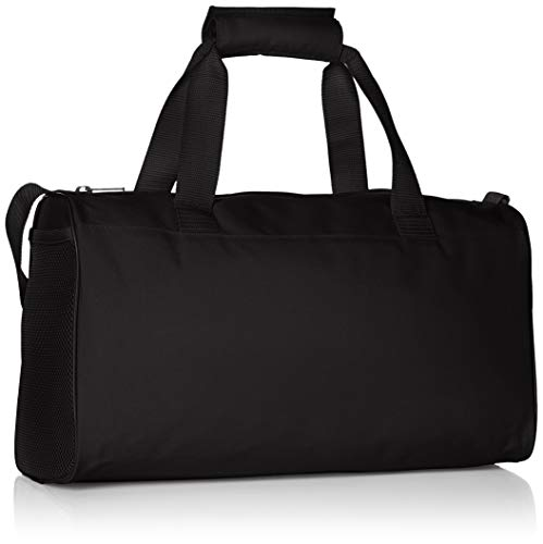 adidas Unisex Adults' Linear Core Extra Small Duffel Bag, Black/Black/White, One Size