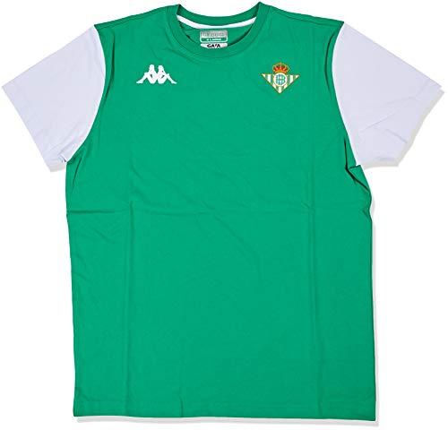 Kappa Aityn Betis Camiseta, Hombre, Verde/Blanco, XL