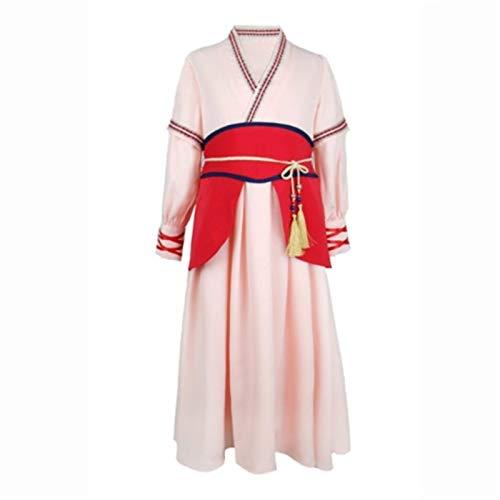 HLIAN Trajes de Mulan Cosplay de Vestir for niñas Mushu Dragón Cosplay Mulan Traje de los niños de la Etapa de Disfraces de Carnaval for niños (Color : A1, Size : 5T(120))
