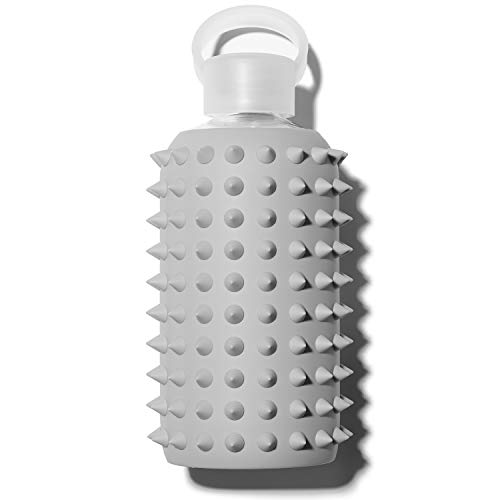 bkr Botella de agua de cristal con pinchos Londres, 500 ml