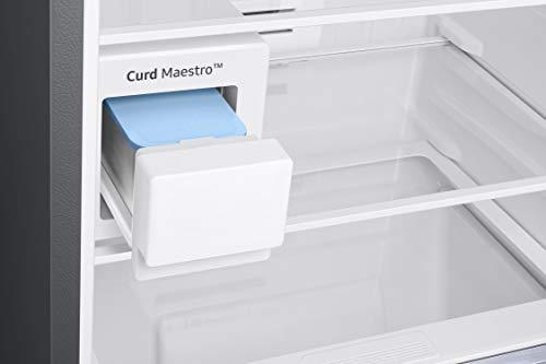Samsung 386 L 3 Star Inverter Frost-Free Double Door Refrigerator (RT39T5C3EDX/TL, Luxe Brown) 4