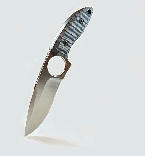 ARIIS Outdoor Messer feststehend mit Kydex Holster 12 cm Klinge mit Gürtelclip