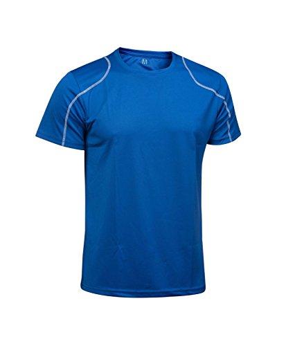 Asioka 75/09T-Shirt à Manches Courtes Unisexe Adulte M Bleu Roi