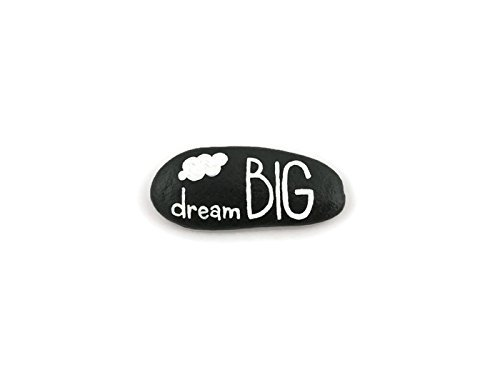 Dream Big Hand Painted Rock - Garden Decor | Garden Art | Garden Gift