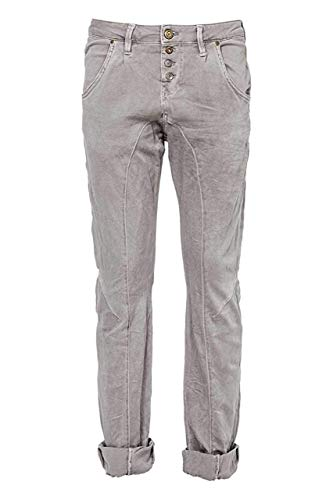 Silver Creek Damen Jeans Star Boyfrie Grey W28 L32
