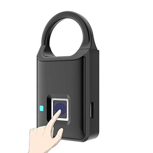 GANFANREN ThumbPrint Door Lock Biometric Smart Fingerprint Lucchetto USB ricaricabile rapido sblocco per armadio armadio