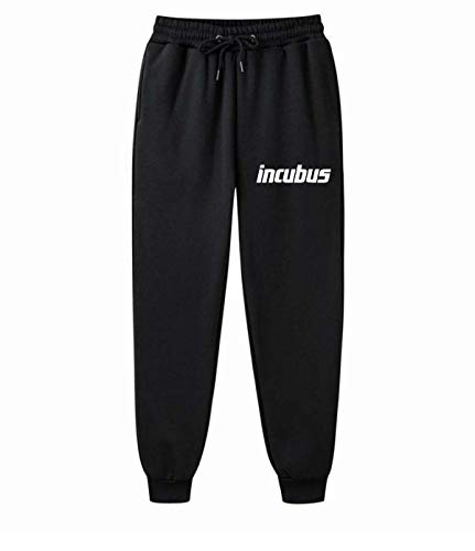 AILIBOTE Incubus Unisex Graphic Fashion Fleece Gym Jogger para hombre y mujer