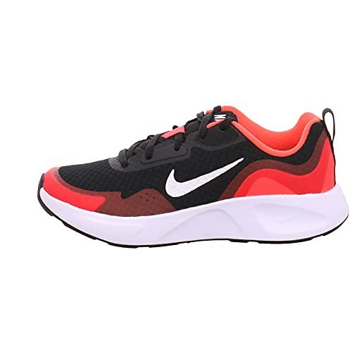 Nike WearAllDay, Scarpe da Ginnastica, Black/White-University Red, 37 EU