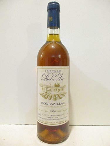 monbazillac château bel-air liquoreux 1996 - sud-ouest