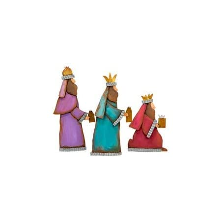 The Round Top Collection Love Came Down Nativity Metal