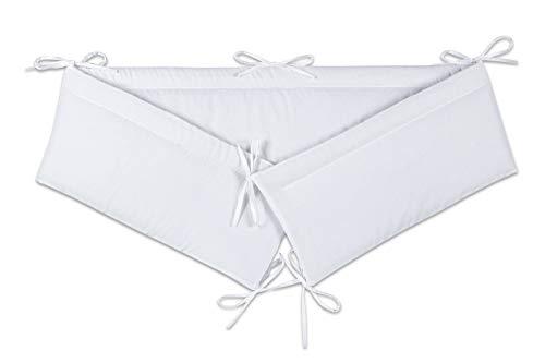 FabiMax Nestchen für Beistellbett Basic, 90x50 cm, Amelie weiß