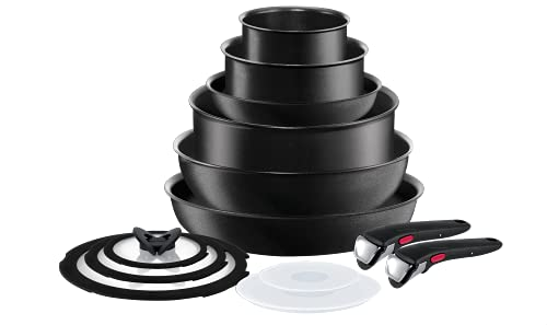 Best Stackable Cookware Set With Removable Handles