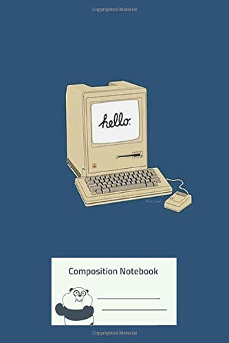 Composition Notebook: Original 1984 Macintosh Composition Notebook for Creative Lettering or Note taking