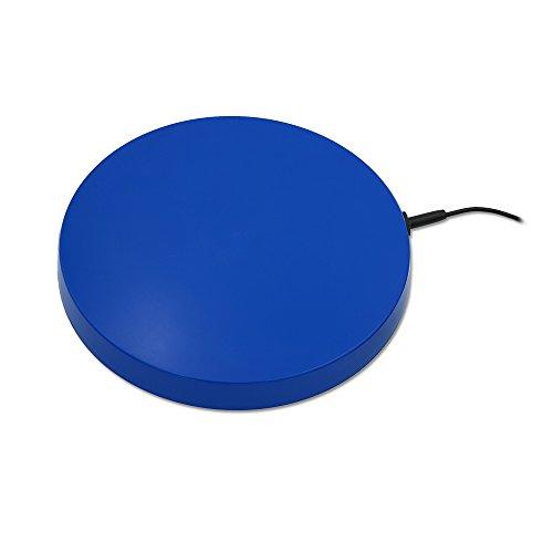 Tränkenwärmer (flach) 3113100 240mm, 12V, 19W, Anschlusskabel mit Batterieklemmen, Kunststoff blau