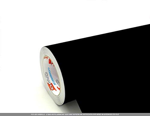 CLICKANDPRINT 3m Klebefolie, 50cm breit, Schwarz matt PR » Klebefolie/Stickerfolie/Selbstklebefolie