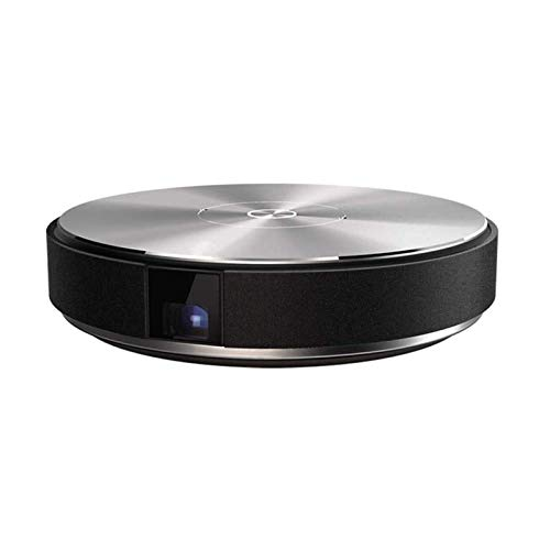 ZXN RTU Impresionante proyector de calidad de imagen Proyector de película portátil compatible con TV Stick HDMI USB Teléfono portátil para presentación Smart WiFi inalámbrico TV 3D