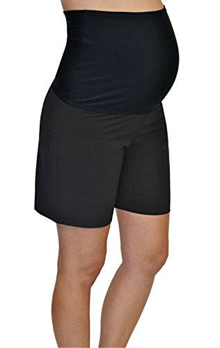 Product Image of the Mermaid Maternity Women's Maternity Board Shorts XXL Black