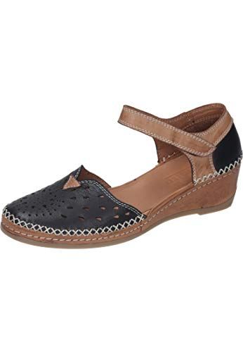 Manitu Damen 911008 Sandale mit Absatz, 1