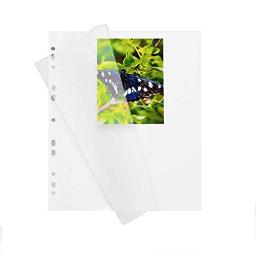 Herma 7569 Fotokarton Fotoblätter 100 Blatt Weiß Mit Pergamin 230x297mm