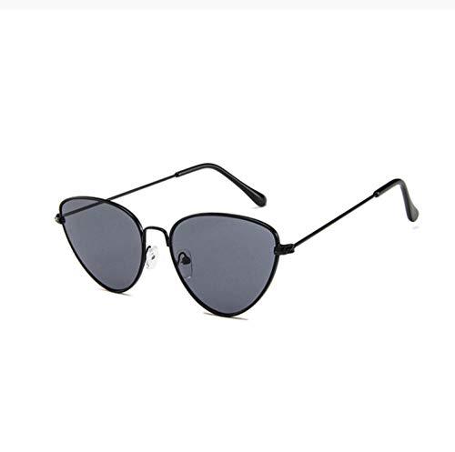 ZZZXX Gafas De Sol Mujer Gafas De Sol De Ojo De Gato Para Mujer Con Montura De Aleación Gafas De Piloto Con Estuche Y Paño De Limpieza, Para Ciclismo Pescar Y Conducir