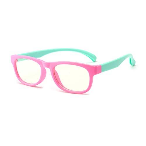 Gafas Anti Eyestrain para niños, Proteccion de radiacion Prevención de la miopía Onda Anti-electromagnetica Gafas Protectoras para niño niña