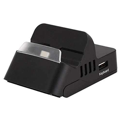 Teclado y amplificador - Base de conversión de teclado y mouse portátiles...