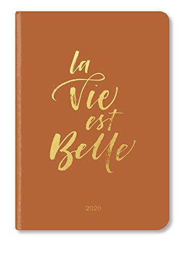 Booklet Diary GlamLine LA VIE 2020 - Wochenkalender - 14,8x21cm - Terminkalender