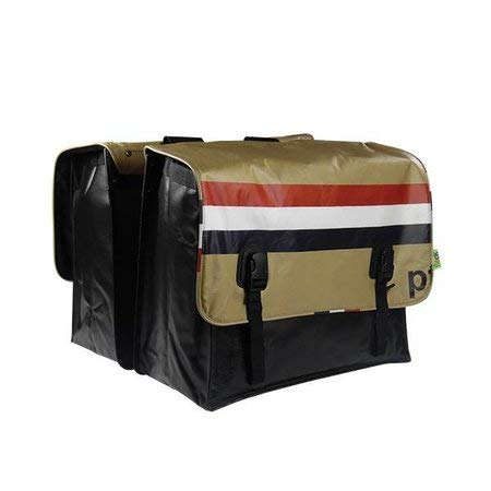 Willex Beck Fahrradtasch Doppelpacktasche für Gepäckträger Fahrrad Gepäckträgertaschen