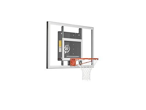 "Goalsetter 54"" Baseline Tempered Glass Backboard Basketball Hoop with HD Breakaway Rim"