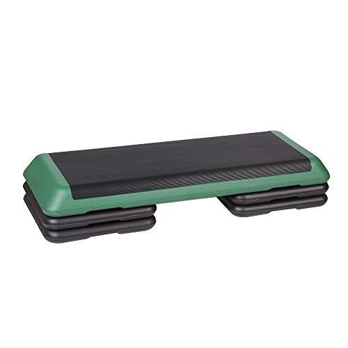 Step de Aeróbic Altura Ajustable Paso a Paso Ejercicio Mejorar la coordinación 3X Altura del Nivel Pasos elevar la Plataforma Steppers Block Board Pasos de Cardio (Color : Dark Green, Size : 110cm)