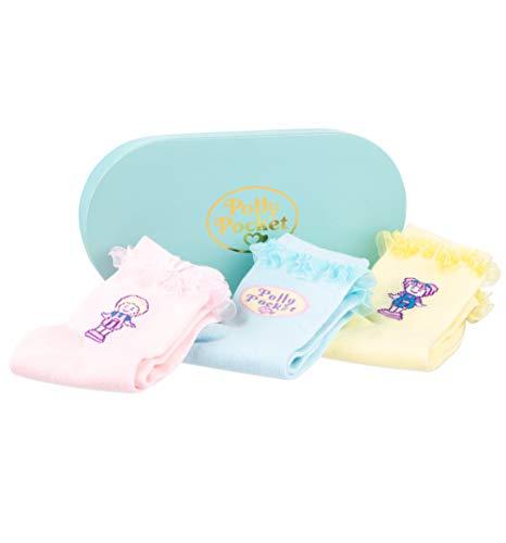 U Wear Ltd Polly Pocket Set of 3 Pairs of Socks in Gift Box