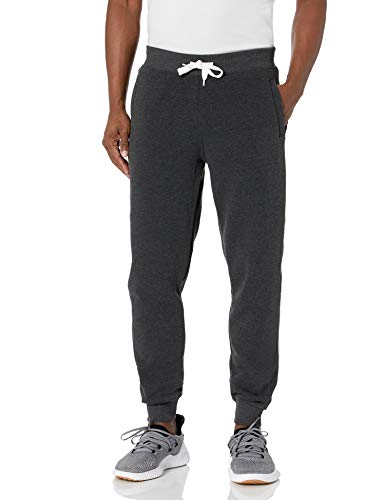 Southpole Men's Active Basic Jogger Fleece Pants,Heather Charcoal,X-Large