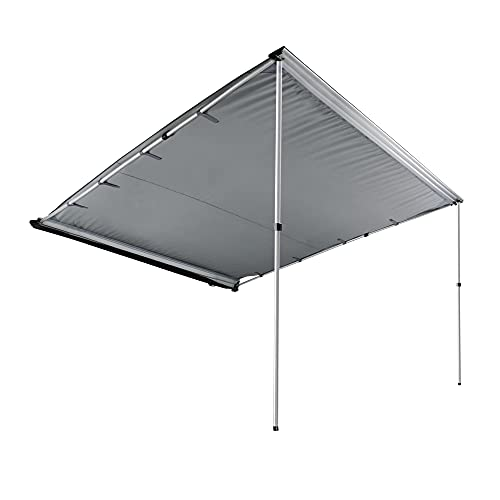 Car Tent Awning Rooftop SUV Truck Camping Travel Shelter Outdoor Sunshade Canopy Grey (Size : 7.6' x 8.2')