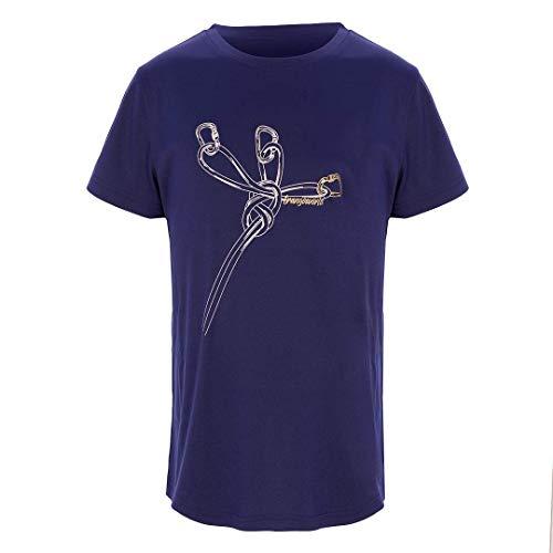 Trangoworld Sangons Kid T-Shirt Mixte Enfant, Bleu Nuit, 08