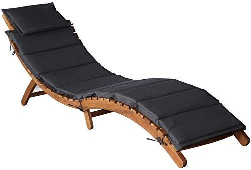 Silla de salón al aire libre con manchas, sillones plegables y de madera,Grey